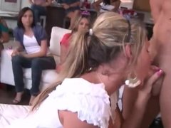 Big Tit Blonde Latina sucks Stripper