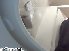 Japanese babes recorded pissing with hidden cam