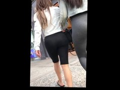 Grey leggings latina