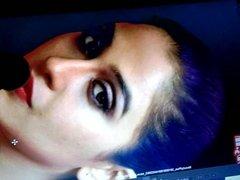 Regina Cassandra hot facial cum tribute spit #106