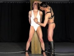 Big Dick Master Turns Young Virgin Twink Into A BDSM Slave