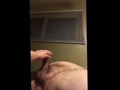 Wife prostate tease hand job cum