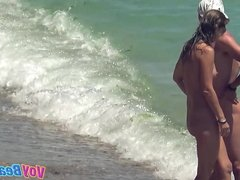 Nudist Amateurs Females Voyeur Beach Compilation 1