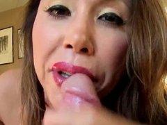 Hot Asian Milf begs for Cum on her Ass