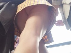 Upskirt (apparently same girl I upskirted 9 months ago!)