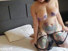 Fucking the tattooed Brazilian PornStar ManddyMay
