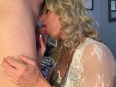 Perfect shemale blowjob and cum in mouth