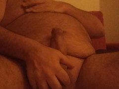 My Favorite Habit:Stroking My Greek Thick Cock,Till Cum Hard