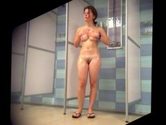 Cute Girl with Sexy Body-Public Showers Spy Cam