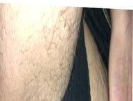Black panty pissing