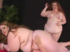 2 SSBBW Sit on Slave part 2