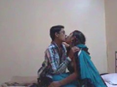 Indian desi busty teacher fucked by student