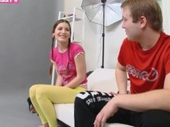 ANAL CASTING: FIRST TIMER EXTREME ANAL DOMINATION WITH YOUNG TEEN