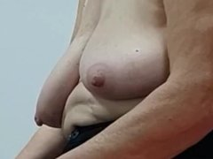 My mother-in-law's nipples