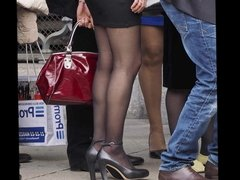 Candid Teens in Nylon Pantyhose they will drive you crazy 3