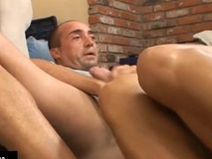 Blonde learning french being fucked by her teacher