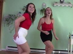 Pee Running Down Their Legs Cadence Lux & Juliette March