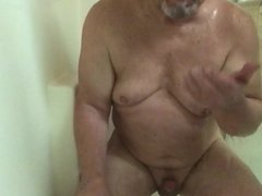Cumming & Eating My Cum in the Shower