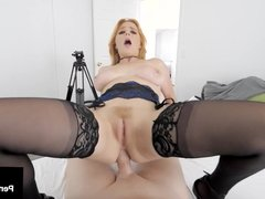 Butt Banged Red Penny Pax Ass Fucked By Camera Man's Cock!