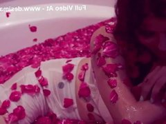 Indian Bollywood actress anveshi jain sexy bathing hot video