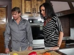 Naughty America - Jessica Jaymes fucking in the counter