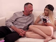 Candie Cross: I Just Seduced My New Step Daddy Dieter Von Stein To Fuck Me